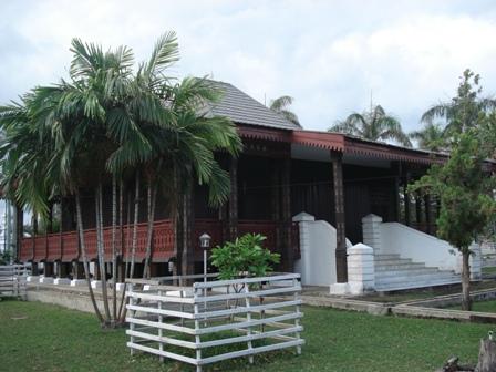 Download this Perspektif Rumah Adat Bengkulu picture